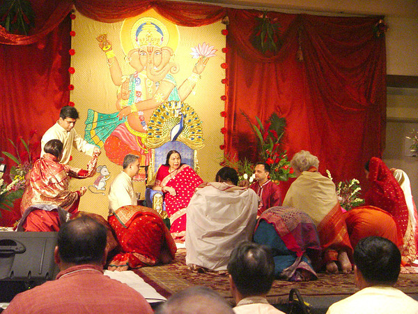 Shri Ganesha Puja, 18 September 2004, Los Angeles