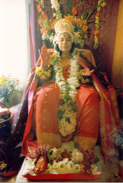 Shri Rajalakshmi Puja, Paris, June 1983