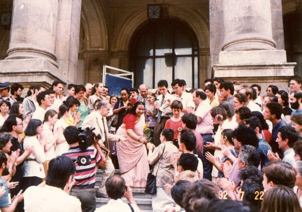 Sahaja Yoga exhibition, 22 July 1992, Romania 1992, Romania