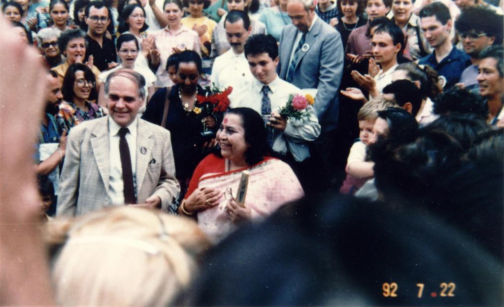 Sahaja Yoga exhibition, 22 July 1992, Romania
