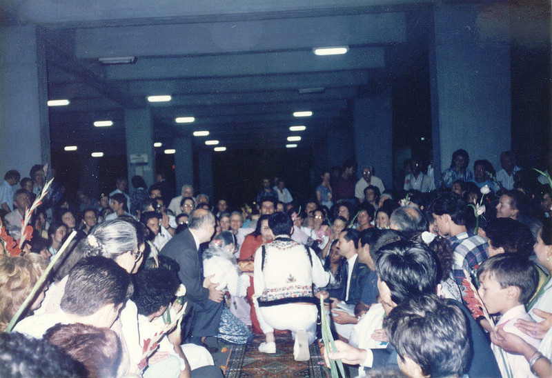 Otopeni Airport, August 1995, Bucharest