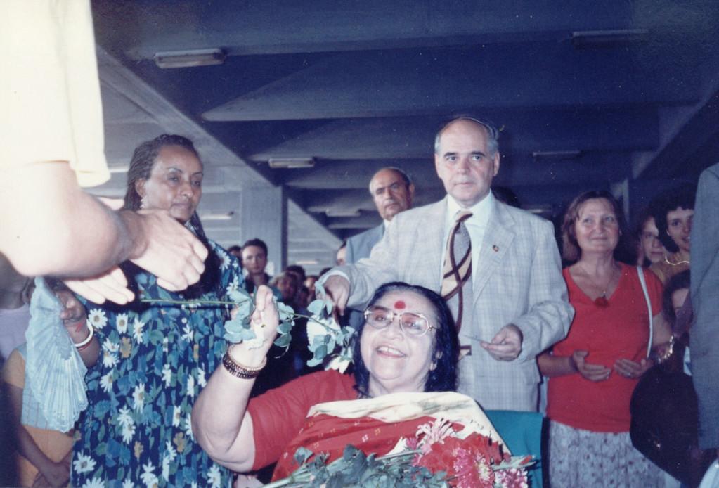 Bucharest airport, September 1994
