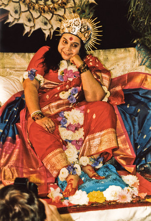 Shri Krishna Puja, 23 August 1986, Schwarzsee Switzerland (Original file size: 63.8 MB tiff)