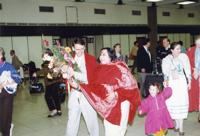 Taipei airport, March 1995