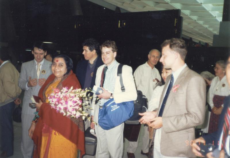 Taipei airport, 11 November 1990