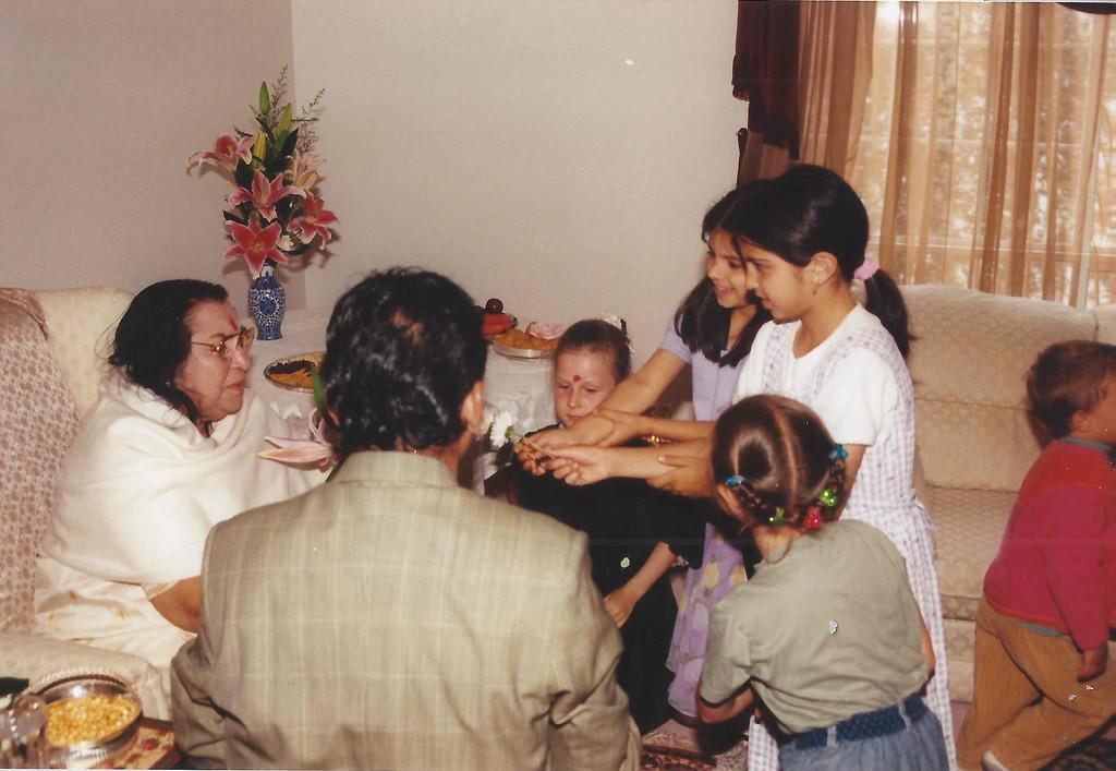 Vancouver ashram, circa 1999