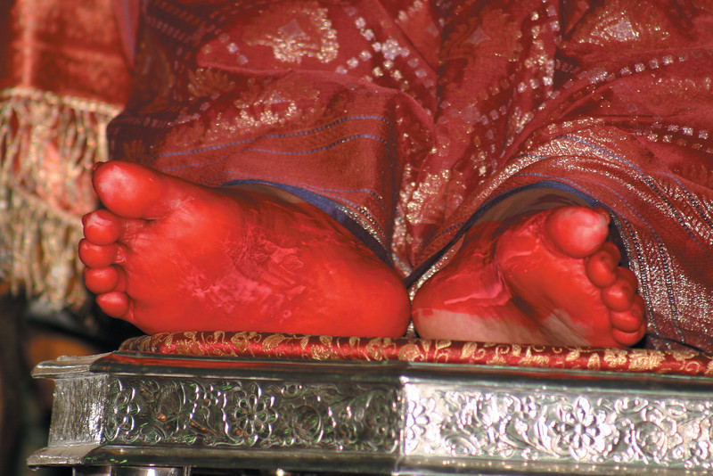 Birthday Puja, 21 March 2004, Delhi