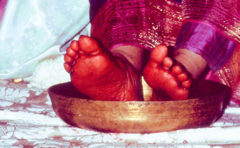 Diwali Puja, 17 November 1985, Tivoli Italy