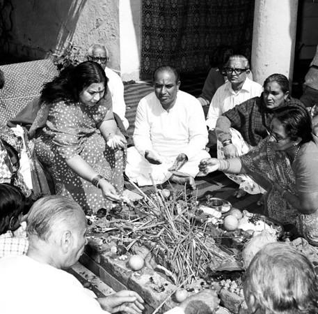 Holi Puja, India, 1979
