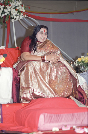 Shri Mahalakshmi Puja, 9 October 1987, Mechelen Belgium (Herbert Reininger photo)