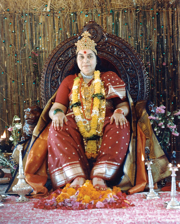 Shri Mahaganesha Puja 1985-1986 Ganapatipule India
