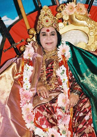 Navaratri Shri Mahakali Puja, October 1999, Cabella Ligure