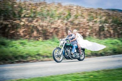 Bride Biker Huband_