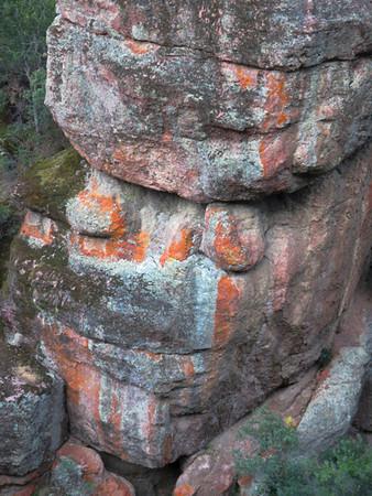Rock Face #2 (Pinnacles Nat. Park, CA)