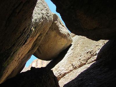Talus (Pinnacles Nat. Park, CA)