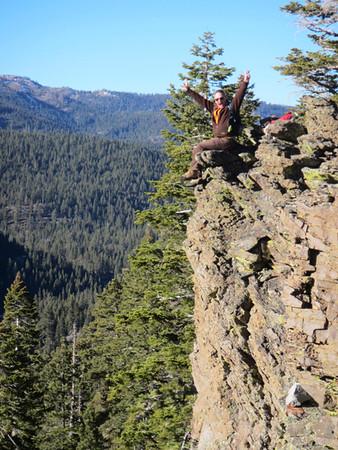 Take a Flying Leap (Gregg, Sierra Nevada, CA)