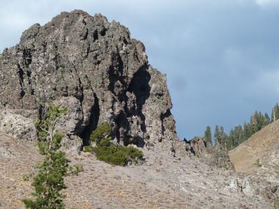 Rock Face #1 (Castle Peak, CA)