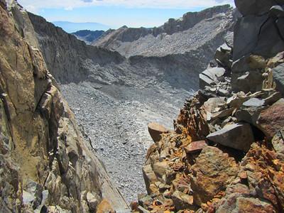 V (Lyell Peak, Yosemite Nat. Park, CA)