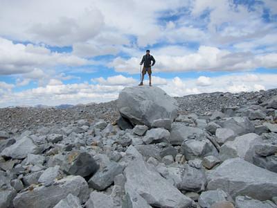 King of the Mountain (Lyell Glacier, Yosemite Nat. Park, CA)