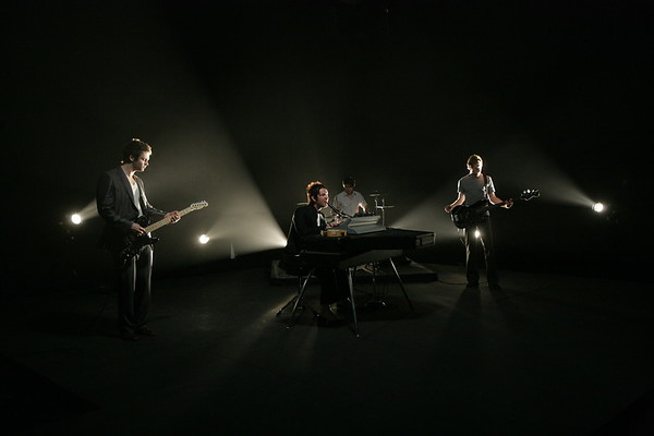 "SOULAR performing on the set of their music video for ""SO THIS IS THE WAY IT FEELS"" Directed by Jordan Chesney at Adrenaline Films in Orlando, FL"