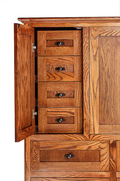 Location Product Mission Oak Dresser