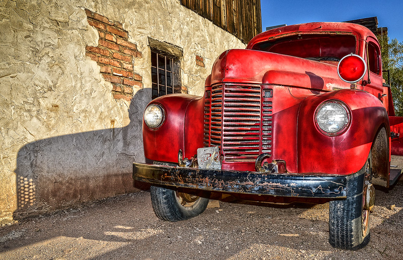 Forgotten Fire Truck OPTO