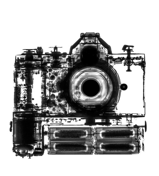 Small Format XRay Nikon FE w Motor