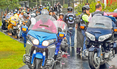 Blue Knights Bike Run
