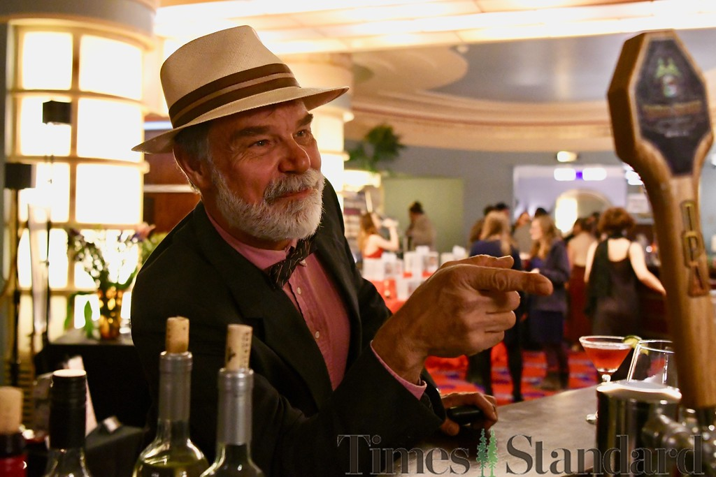 . Ordering drinks was easy enough during the gala. José Quezada�For the Times-Standard