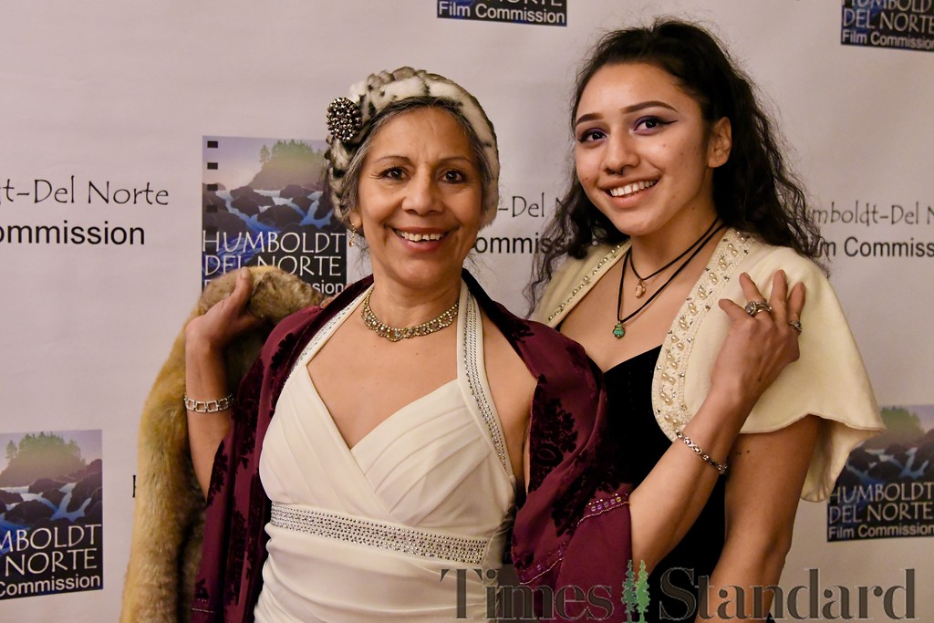 . Toni Valentine and her granddaughter Ali Valentine. José Quezada�For the Times-Standard