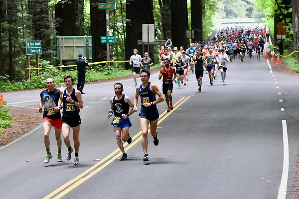 PHOTOS: 47th annual Avenue of the Giants Marathon