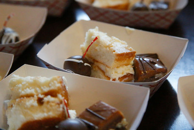Shaun Walker — The Times-Standard  Old Town Coffee and Chocolates featured a variety of sweet treats and wine tasting.