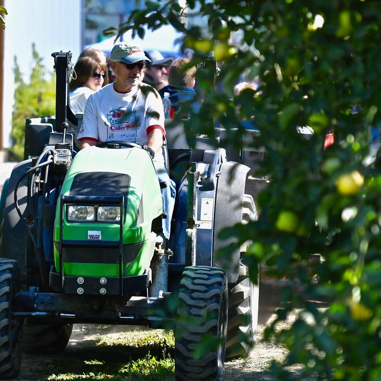 . Apple orchard tours were a big hit. José Quezada�For Times-Standard
