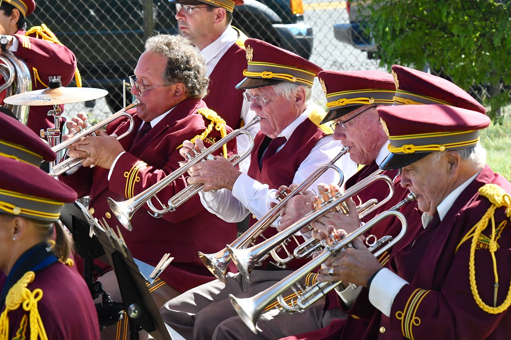 . Scotia Band performs for the Apple Harvest Festival. José Quezada�For Times-Standard