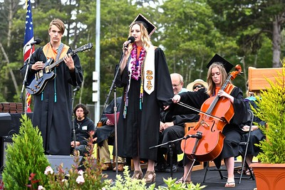 Garrett Adamo, Alida Nicklas, and Marina Sonn perform 1, 2, 3, 4 by Feist. (José Quezada—For the Times-Standard)