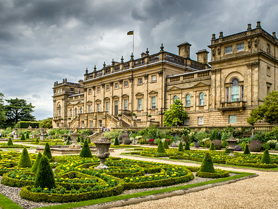 Harewood House And Gardens.