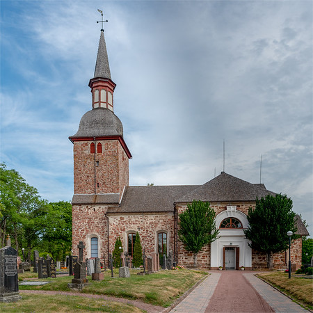 Åland July 2018, Jomala Church.