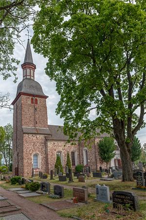 Åland July 2018, Jomala Church.