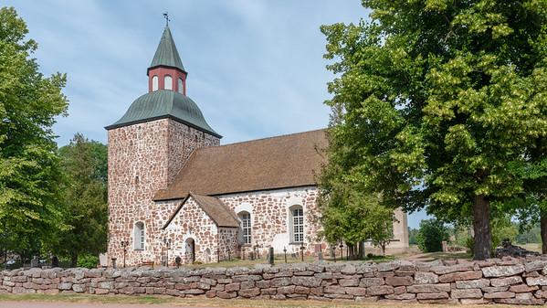 Åland July 2018, Saltvik Church.
