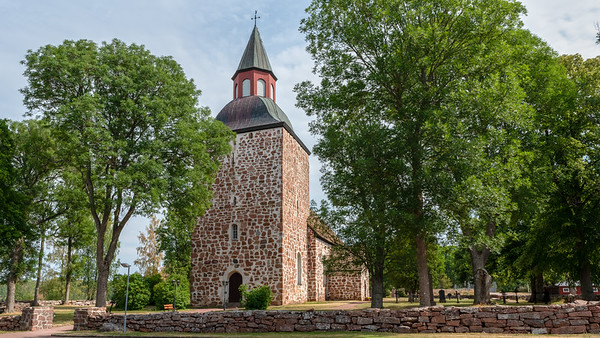 Åland July 2018, Saltvik Church.