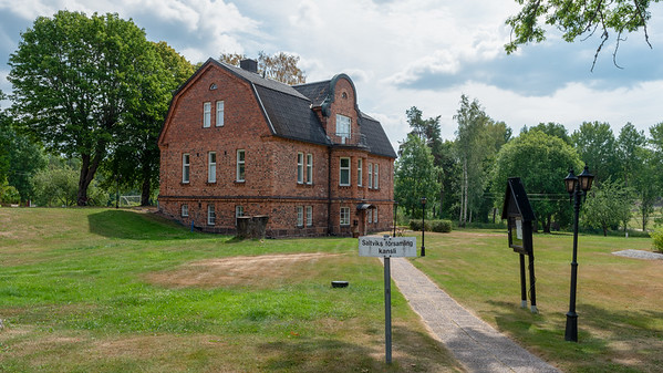 Åland July 2018, Saltvik Church House.
