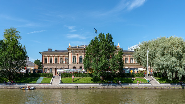 Finland, Turku 2018, City Hall.