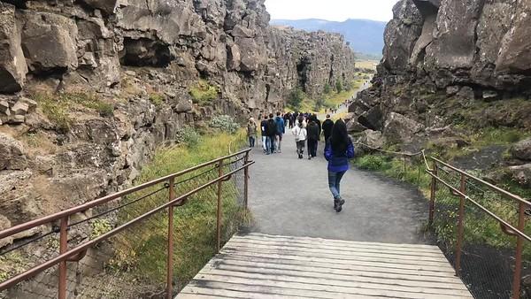 Thingvellir, Iceland, August 2019.