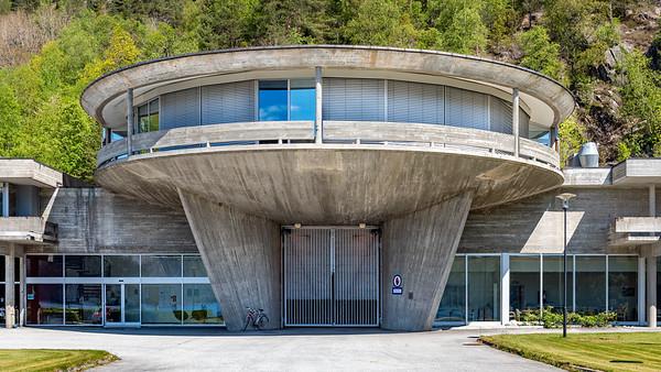 Norway, Suldal Hydro Powerplant.