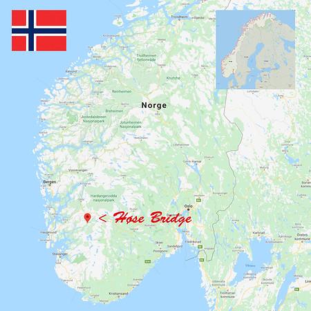 Norway, Høse Bridge.