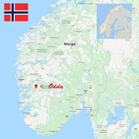 Norway, Odda.
