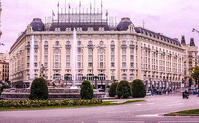 Madrid, Palace Hotel.