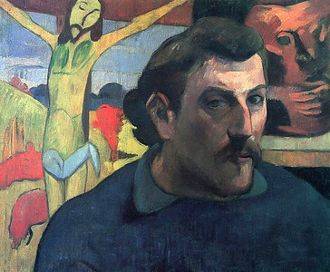 Gauguin, Self-portrait, 1889–1890