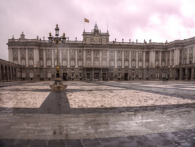 Madrid, Palace Real.