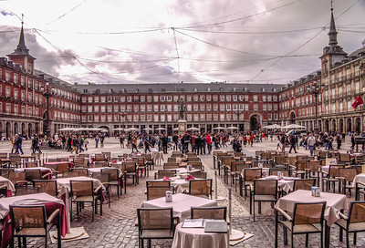 Madrid, Plaza Mayor.
